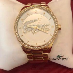 Women's Lacoste Gold Watch